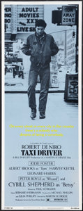 "Movie Posters:Crime, Taxi Driver (Columbia, 1976). Insert (14"" X 36""). Crime.. ..."