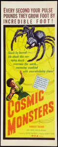 """Movie Posters:Science Fiction, Cosmic Monsters (DCA, 1958). Insert (14"""" X 36""""). Science Fiction.. ..."""