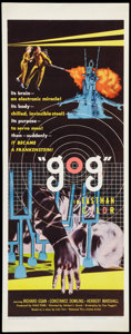 """Movie Posters:Science Fiction, Gog (United Artists, 1954). Insert (14"""" X 36""""). Science Fiction....."""