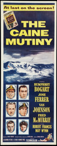 "Movie Posters:War, The Caine Mutiny (Columbia, 1954). Insert (14"" X 36""). War.. ..."