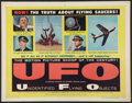 "Movie Posters:Science Fiction, UFO: Unidentified Flying Objects (United Artists, 1956). Half Sheet (22"" X 28""). Science Fiction.. ..."