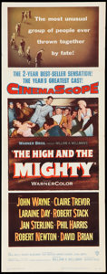 "Movie Posters:Adventure, The High and the Mighty (Warner Brothers, 1954). Insert (14"" X36""). Adventure.. ..."