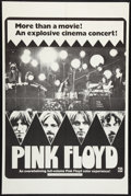 """Movie Posters:Rock and Roll, Pink Floyd (April Fools Productions, 1972). One Sheet (27"""" X 41"""").Rock and Roll.. ..."""