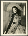 """Movie Posters:Academy Award Winners, Vivien Leigh in """"Gone with the Wind"""" (MGM, 1939). Photo (8"""" X 10"""")and Candid Photo (4"""" X 5""""). Academy Award Winners.. ... (Total: 2Items)"""
