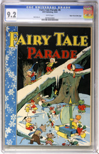 Fairy Tale Parade #8 Mile High pedigree (Dell, 1943) CGC NM- 9.2 White pages