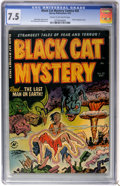 Golden Age (1938-1955):Horror, Black Cat Mystery #35 (Harvey, 1952) CGC VF- 7.5 Cream to off-whitepages....
