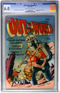 Golden Age (1938-1955):Science Fiction, Out of This World #1 (Avon, 1950) CGC FN 6.0 Cream to off-whitepages....