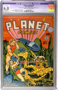 Golden Age (1938-1955):Science Fiction, Planet Comics #5 (Fiction House, 1940) CGC Apparent FN 6.0 Slight(P) Cream to off-white pages....