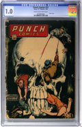 Golden Age (1938-1955):Crime, Punch Comics #12 (Chesler, 1945) CGC FR 1.0 Cream to off-white pages....