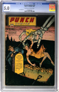 Golden Age (1938-1955):Crime, Punch Comics #13 (Chesler, 1945) CGC VG/FN 5.0 Off-white to white pages....