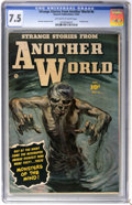 Golden Age (1938-1955):Horror, Strange Stories from Another World #4 (Fawcett, 1952) CGC VF- 7.5Off-white to white pages....