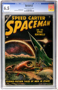 Golden Age (1938-1955):Science Fiction, Spaceman #1 (Atlas, 1953) CGC FN+ 6.5 Cream to off-white pages....