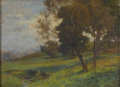 Fine Art - Painting, American:Antique  (Pre 1900), WALTER A. CLARK (American, 1848-1917). Summertime,Bronxville. Oil on canvas. 20in. x 27in.. Signed at lower rightW. ... (Total: 1 Item)