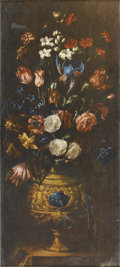 Prints:Old Master, After JUAN DE ARELLANO (Spanish, 1614-1676). Decorative Print of aStill Life. 34-3/8in. x 15-3/8in.. ... (Total: 1 Item)