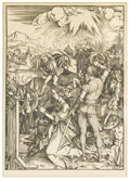 Prints:Old Master, ALBRECHT DURER (German, 1471-1528). Martydom of SaintCatherine. Print of a woodcut, Twentieth Century. 16-1/2in. x11-3... (Total: 1 Item)