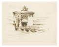 Prints:American, ANTON SCHUTZ (German/American, 1894-1977). Fort Jay atGovernor's Island. Etching, #21. 9in. x 12in.. Signed at lowerri... (Total: 1 Item)