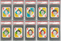 Baseball Cards:Sets, 1951 Topps Red Back Baseball Mid To High Grade Complete Set (52). ...
