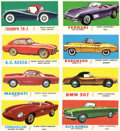 "Non-Sport Cards:Sets, 1961 Topps ""Sports Cars"" Complete Set (66). ..."