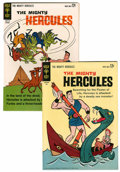 Silver Age (1956-1969):Adventure, Mighty Hercules #1 and 2 Group (Gold Key, 1963).... (Total: 2 ComicBooks)