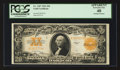 Large Size:Gold Certificates, Fr. 1187 $20 1922 Gold Certificate PCGS Apparent Extremely Fine 40.. ...