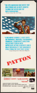 "Movie Posters:War, Patton (20th Century Fox, 1970). Insert (14"" X 36""). War.. ..."