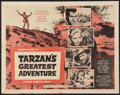 "Movie Posters:Adventure, Tarzan's Greatest Adventure (Paramount, 1959). Half Sheet (22"" X28""). Adventure.. ..."