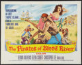 """Movie Posters:Adventure, The Pirates of Blood River (Columbia, 1962). Half Sheet (22"""" X28""""). Adventure.. ..."""