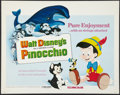 "Movie Posters:Animated, Pinocchio Lot (Buena Vista, R-1978). Half Sheets (2) (22"" X 28"").Animated.. ... (Total: 2 Items)"