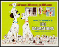 "Movie Posters:Animated, 101 Dalmatians Lot (Buena Vista, R-1972). Half Sheets (2) (22"" X28""). Animated.. ... (Total: 2 Items)"