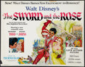 "Movie Posters:Adventure, The Sword and the Rose (RKO, 1953). Half Sheet (22"" X 28"").Adventure.. ..."