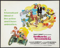 "Movie Posters:Animated, Bedknobs and Broomsticks Lot (Buena Vista, R-1979). Half Sheets (2)(22"" X 28""). Animated.. ... (Total: 2 Items)"
