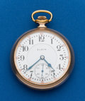 Timepieces:Pocket (post 1900), Elgin, 21 Jewel, 16 Size, Father Time. ...