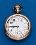 Timepieces:Pocket (post 1900), Howard, 21 Jewel, 16 Size, Series 10. ...
