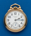 Timepieces:Pocket (post 1900), Elgin, 21 Jewel, Grade 571 B.W. Raymond. ...