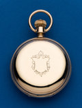 Timepieces:Pocket (post 1900), Waltham, 18 Size, B.W.C. Co. Unmarked Gold Hunters Case. ...