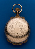 Timepieces:Pocket (post 1900), Illinois, Gold Filled, 18 Size, Box Hinge Hunters Case. ...