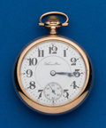 Timepieces:Pocket (post 1900), Hamilton, 18 Size, 940, 21 Jewel. ...