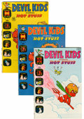 Bronze Age (1970-1979):Cartoon Character, Devil Kids Starring Hot Stuff #51-106 File Copies Group (Harvey,1971-81) Condition: Average NM-.... (Total: 56 Comic Books)