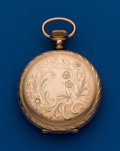 Timepieces:Pocket (post 1900), Illinois, 6 Size, Gold Filled Hunters Case. ...