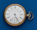 Timepieces:Pocket (post 1900), Hampden, 16 Size, 23 Jewel, Special Railway Parts Watch. ...