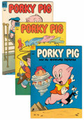 Golden Age (1938-1955):Cartoon Character, Porky Pig File Copies Group (Dell, 1953-62) Condition: Average VF/NM.... (Total: 30 Comic Books)