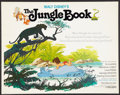 "Movie Posters:Animated, The Jungle Book (Buena Vista, R-1978). Half Sheet (22"" X 28""). Animated.. ..."