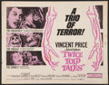 """Movie Posters:Horror, Twice Told Tales Lot (United Artists, 1963). Half Sheets (2) (22"""" X 28""""). Horror.. ... (Total: 2 Items)"""