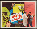 """Movie Posters:Science Fiction, Gog (United Artists, 1954). Half Sheet (22"""" X 28""""). ScienceFiction.. ..."""