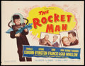 "Movie Posters:Science Fiction, The Rocket Man (20th Century Fox, 1954). Half Sheet (22"" X 28"").Science Fiction.. ..."