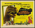 "Movie Posters:Science Fiction, The Beast of Hollow Mountain (United Artists, 1956). Half Sheet(22"" X 28""). Science Fiction.. ..."