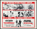 "Movie Posters:James Bond, Thunderball/You Only Live Twice Combo (United Artists, R-1971).Half Sheet (22"" X 28""). James Bond.. ..."