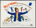"""Movie Posters:Fantasy, Willy Wonka & the Chocolate Factory Lot (Paramount, 1971). Half Sheets (2) (22"""" X 28""""). Fantasy.. ... (Total: 2 Items)"""