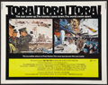 "Movie Posters:War, Tora! Tora! Tora! (20th Century Fox, 1970). Half Sheet (22"" X 28"").War.. ..."