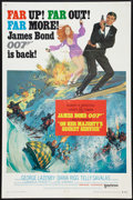 "Movie Posters:James Bond, On Her Majesty's Secret Service (United Artists, 1970). One Sheet(27"" X 41"") Style B. James Bond.. ..."